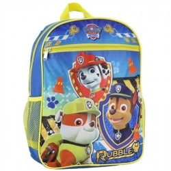 Nick Jr Paw Patrol Rubble And Friends Kids School Backpack