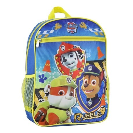 Nick Jr Paw Patrol Rubble And Friends Kids School Backpack At Houston Kids Fashion Clothing Store
