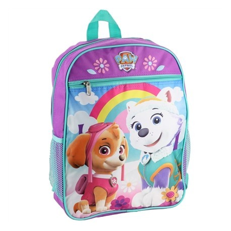 Nick Jr Paw Patrol Everest And Skye Purple Girls Backpack For School at Houston Kids Fashion Clothing