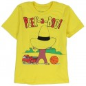 Curious George Playing Peek A Boo Under The Mans Hat Yellow T Shirt At Houston Kids Fashion Clothing