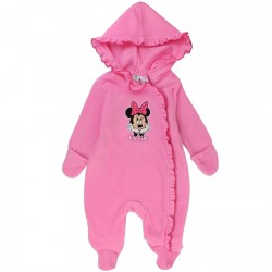 Minnie Mouse Cutie Pink Infant Girls Footed Sleeper At Houston Kids Fashion Clothing