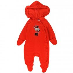 Disney Minnie Mouse Red Infant Footed Sleeper