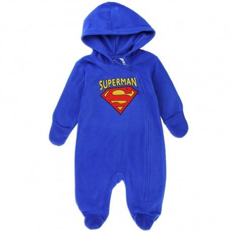 DC Comics Superman Blue Infant Lightweight Polar Fleece Pram At Houston Kids Fashion Clothing