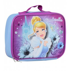 Disney Princess Cinderella Purple Insulated School Lunch Bag At Hoouston Kids Fashion Clothing