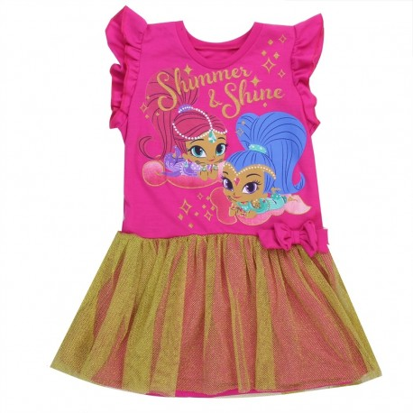 Nick Jr Shimmer and Shine Toddler Girls Dress at Houston Kids Fashion Clothing Toddler Clothes