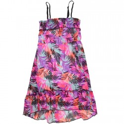 Kensie Floral Print Girls Chiffon Summer Dress