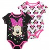 Disney Minnie Mouse Smile Black Onesie And White Onesie Set Houston Kids Fashion Clothing