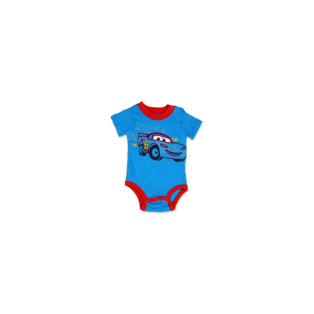 Boys Disney Pixar Mcqueen Cars Baby Short Sleeve T Shirt 3 6 12 18 24 Months