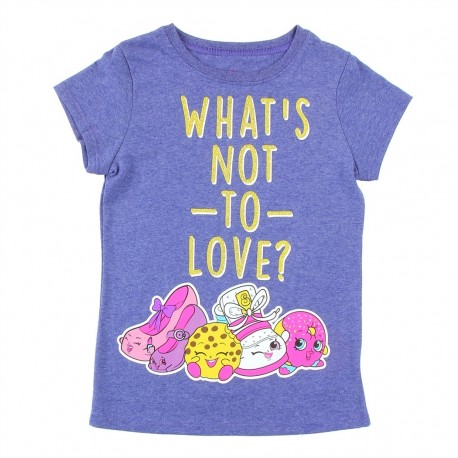 Shopkins Whats Not To Love Heather Navy Girls Shirt Houston Kids Fashion Clothing Girls Clothes