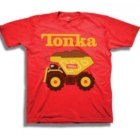 Tonka Trucks Red Short Sleeve Infant Tee Shirt At Houston Kids Fashion Clothing