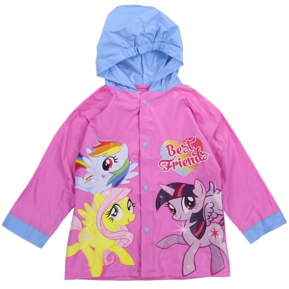 My Little Pony Best Friends Pink Button Down Raincoat