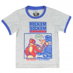 Mattel Toy Box Treasures Rock'em Sock'em Robots Toddler Shirt