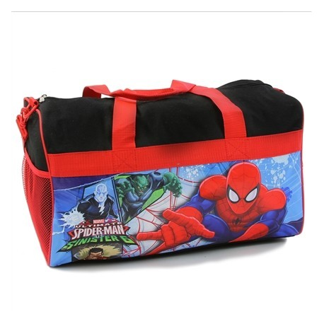 Marvel Comics Ultimate Spider Man vs Sinister 6 Duffle Bag