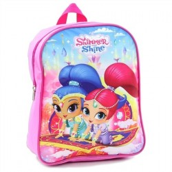 Nick Jr Shimmer And Shine Magic Carpet Ride Pink Mini Backpack At Houston Kids Fashion Clothing