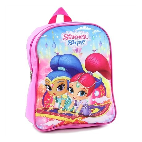 Nick Jr Shimmer And Shine Magic Carpet Ride Pink Mini Backpack At Houston Kids Fashion Clothing