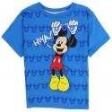 Disney Mickey Mouse Hiya Blue Toddler Boys Short Sleeve Shirt At Houston Kids Fashion Clothing