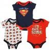 DC Comics Superman I'm Awesome Infant 3 Piece Onesie Set At Houston Kids Fashion Clothing