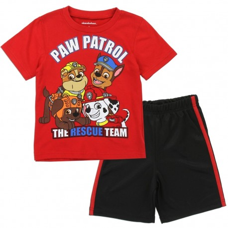 Nick Jr Paw Patrol The Rescue Team Toddler Boys Short Set At Houston Kids Fashion Clothing Store