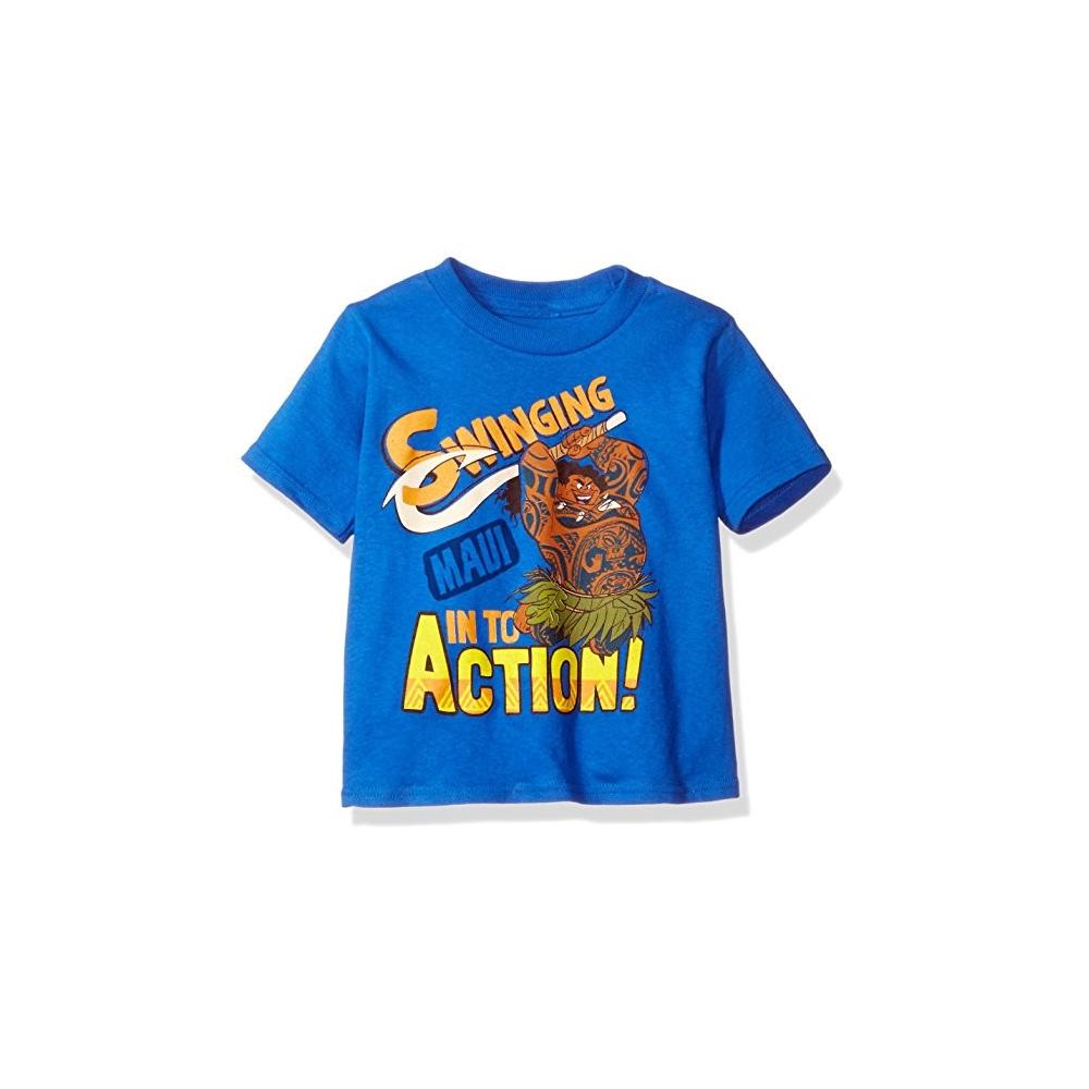 f345fae8 Disney Moana Maui Swing Into Action Royal Blue Toddler Boys Shirt At  Houston Kids Fashion Clothing. Loading zoom