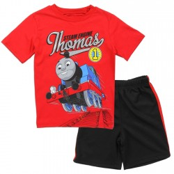 Thomas and Friends Toddler Boys Shirt and Mesh Shorts