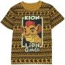 Disney Jr Kion The Leader Of The Lion Guard Brown African Print Toddler Boys Shirt At Houston Kids FashionClothing Store
