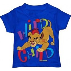Disney Lion Guard Kion Wild Child Blue Toddler T Shirt