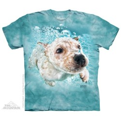 The Mountain Underwater Dog Corey Short Sleeve Youth Shirt At Houston Kids Fashion Clothing Store