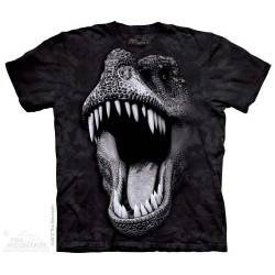 The Mountain T Rex Big Face Dinosaur Short Sleeve Shirt