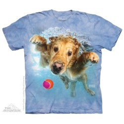 The Mountain Artwear Underwater Dogs Frisco Short Sleeve Shirt