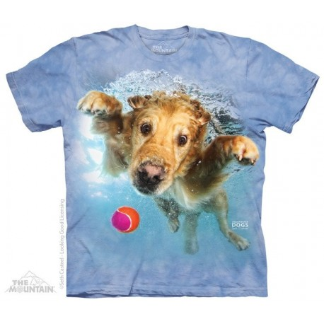 The Mountain Artwear Underwater Dogs Frisco Short Sleeve Shirt At Houston Kids Fashion Clothng