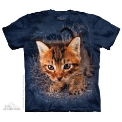 The Mountain Artwear Seth Casteel Pounce Captain Snuggles Shirt