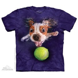 The Mountain Artwear Underwater Dogs Monty Short Sleeve Shirt