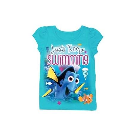 Disney Pixar Finding Nemo Just Keep Swimming Toddler Shirt At Houston Kids Fashion Clothing
