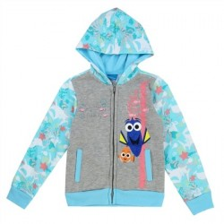 Disney Finding Dory Just Keep Swimming Zippered Hoodie