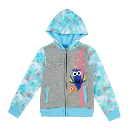 Disney Pixar Finding Dory Just Keep Swimming Dory And Nemo Zippered Hoodie At Houston Kids Fashion Clothing Store