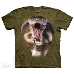 The Mountain Cobra Big Face Snake Short Sleeve Shirt