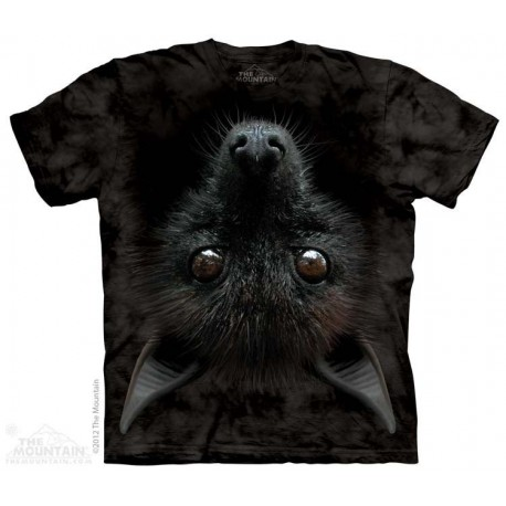 The Mountain Bat Head Big Face Bat Boys Short Sleeve Shirt At Houston Kids Fashion Clothing