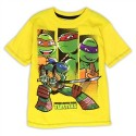 Teenage Mutant Ninja Turtles Yellow Boys Tee Shirt At Houston Kids Fashion Clothing Store
