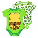Nick Jr Teenage Mutant Ninja Turtles 2 Piece Creeper Set At Houston Kids Fashion Clothing Store