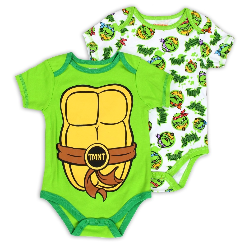 Nick Jr Teenage Mutant Ninja Turtles 2 Piece Onesie Set