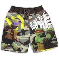Nick Jr Teenage Mutant Ninja Turtles Ready For Battle Swim Shorts