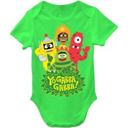 Nick Jr Yo Gabba Gabba Green Onesie