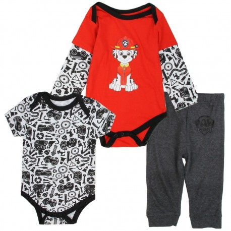 Nick Jr Paw Patrol Marshall 3 Piece Onesie And Pants Set Houston Kids Fashion Clothing Store