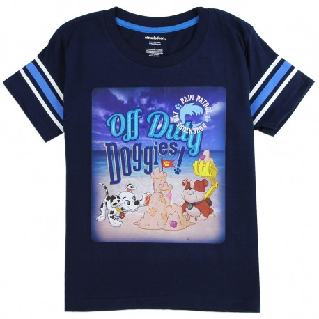 Nick Jr Paw Patrol Adventure Bay Blue Toddlers Short Sleeve Shirt At Houston Kids Fashion Clothing Store