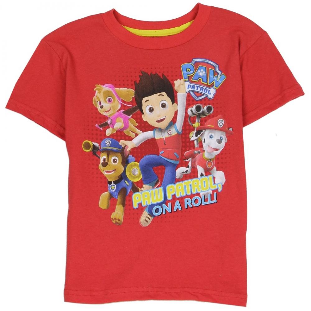 Paw Patrol On A Roll Toddler Shirt Paw Patrol Boys Clothes