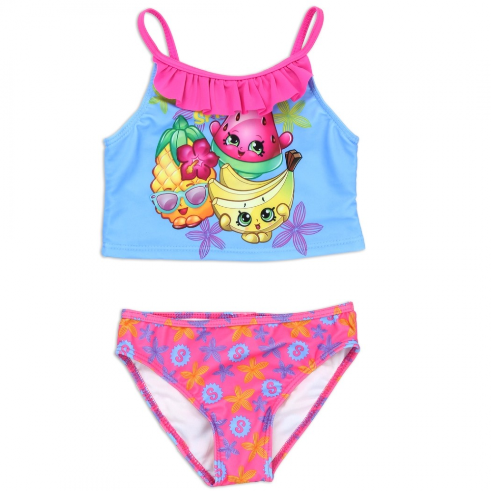 Shopkins Bikini With Pineapple Crush, Buncho Bananas And Melonie Pips  Houston Kids Fashion Clothing Store. Loading Zoom