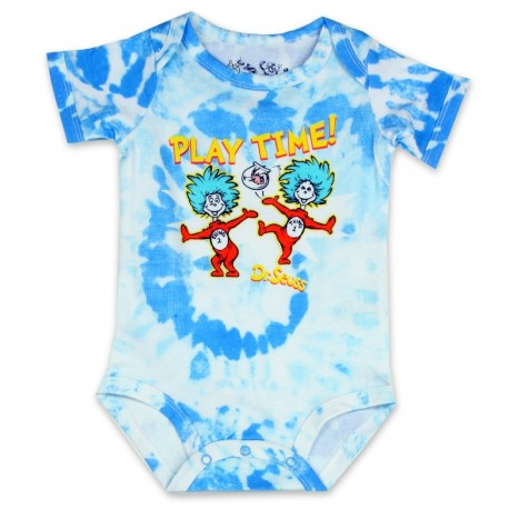 Dr Seuss Playtime With Thing One And Thing Two Infant Onesie At Houston Kids Fashion Clothing Store