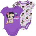 Betty Boop Sweet Baby Boop 2 Piece Baby Onesies Set Houston Kids Fashion Clothing Store