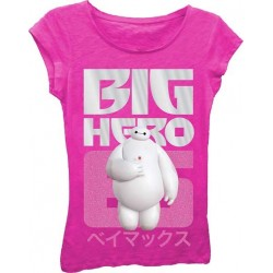 Big Hero 6 Raspberry Girls Princess Graphic T Shirt