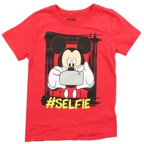 Disney Mickey Mouse Selfie Red Toddler Shirt Houston Kids Fashion Clothing Store